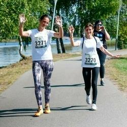 Jüri Jaansoni Kahe Silla jooks - Evelyn Gustasson (3270), Janne Luusepp (3271)