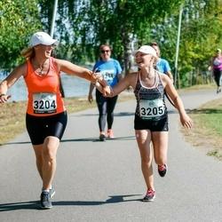 Jüri Jaansoni Kahe Silla jooks - Kärt Jürgens (3204), Sirelin Jürgens (3205)