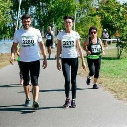 Jüri Jaansoni Kahe Silla jooks - Diana Želizko (3273), Karel Mällas (3280)
