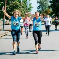 Jüri Jaansoni Kahe Silla jooks - Anne Vahermets (3148), Ülle Mitt (3149)