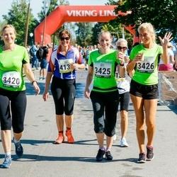 Jüri Jaansoni Kahe Silla jooks - Helina Avamere (3420), Epp Tuisk (3425), Kätlin Kalmu (3426)