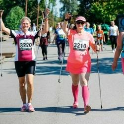Jüri Jaansoni Kahe Silla jooks - Janika Jakobson (3210), Koidula Grauberg (3220), Merike Tuhkanen (3386)