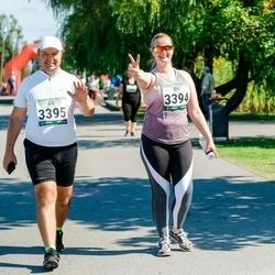 Jüri Jaansoni Kahe Silla jooks - Gea Toomemägi (3394), Andres Keba (3395)