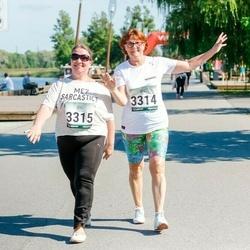 Jüri Jaansoni Kahe Silla jooks - Helve Truus (3314), Ingrid Õun (3315)