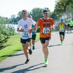 Jüri Jaansoni Kahe Silla jooks - Ragnar Lelle (184), Viljar Hiienõmm (249)