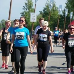 Jüri Jaansoni Kahe Silla jooks - Annika Jansikene (1181), Egle Mailaan (3206)
