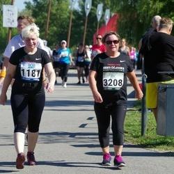 Jüri Jaansoni Kahe Silla jooks - Annika Jansikene (1181), Hilju Josua (3208)