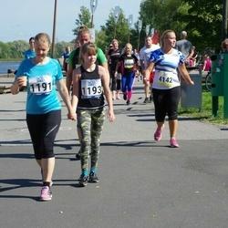 Jüri Jaansoni Kahe Silla jooks - Birgit Rohtoja (1191), Britt Rohtoja (1193)