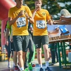 Jüri Jaansoni Kahe Silla jooks - Liisa Ojala (1201), Artur Ojala (1202)