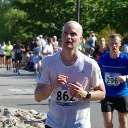 Jüri Jaansoni Kahe Silla jooks - Rauno Mikkor (296), Ingvar Derešivski (862)