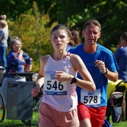 Jüri Jaansoni Kahe Silla jooks - Margareth Sonntak (546), Egert Leht (578)