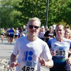 Jüri Jaansoni Kahe Silla jooks - Märt Pilme (482), Kairi Lumberg (583)