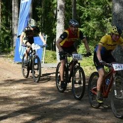 22. Tallinna Rattamaraton - Merilin Metsalu (307), Tõnu Pekk (326), Brent Janno (356)