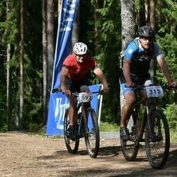 22. Tallinna Rattamaraton - Alar Liin (315), Marko Allik (592)