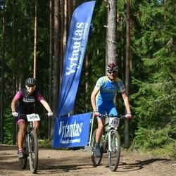 22. Tallinna Rattamaraton - Hannes Meimre (394), Tiina Muts (608)