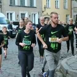 Nike Noortejooks (We Run Tallinn) - Ago Kobrusepa (849), Darja Toropkova (1948), Lisett Klement (2631), Birgit Hermat (2936), Anne Sein (3143)