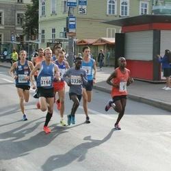Tallinna Sügisjooks - Ibrahim Mukunga (5), Fredrik Uhrbom (3168), Mohammed Kalil Nedi (3336)