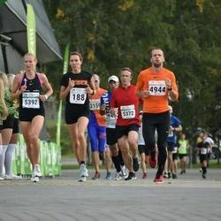 Tallinna Sügisjooks - Annet Schipper (188), Rünno Pusa (4944), Aarne Kiholane (5372), Santa Matule (5392)