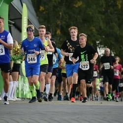 Tallinna Sügisjooks - Artur Simmo Kaitsa (346), Rasmus Kivari (522)