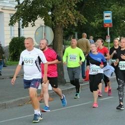 Tallinna Sügisjooks - Aarne Lätte (1593), Kadri Kiisk (2593), Sandra Raats (5053), Meelis Karro (5330)