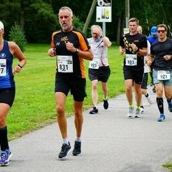 Tallinna Maraton - Aap Allmägi (803), Jan-Olof Svensson (831), Aleksandr Knjažetski (921), Timo Pyykkönen (993), Maria Sarv (1967)