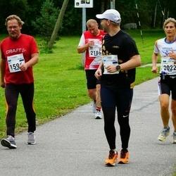 Tallinna Maraton - Rain Marrandi (1168), Einar Kivisalu (1596), Carmen Birkle (2022), Janis Avens (2186)