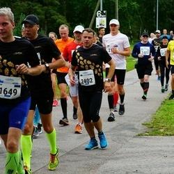 Tallinna Maraton - Evar Ojasaar (1649), Ainar Ojasaar (1992), Aimar Kann (2402)