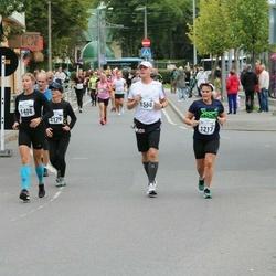 Tallinna Maraton - Eeva-Liisa Hotakainen (1217), Sandra Luik (1408), Sami Hagelberg (1568)