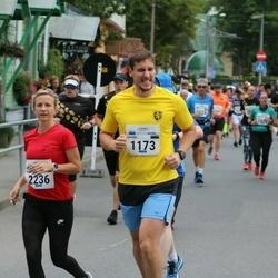 Tallinna Maraton - Kaarel Kraus (1173), Hene-Riin Männik (2236)