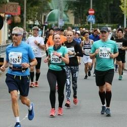 Tallinna Maraton - Jean Lietard (1624), Pernilla Dahlin (2026), Jimmy Gustavsson (2027)