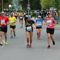Tallinna Maraton - Annemari Muru (1300), Ari Huovinen (1492), Esmeralda Lille (2419), Kairit Kaasik (2464)
