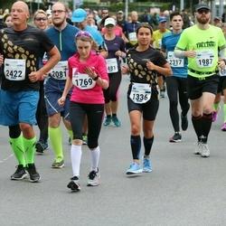 Tallinna Maraton - Jevgenia Kolk (1336), Milla Tuulos (1769), Mait Kadarpik (1987), Kirill Belõi (2422)