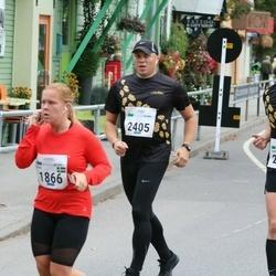 Tallinna Maraton - Tuva Karlsson (1866), Marko Tänav (2393), Viljo Pettinen (2405)
