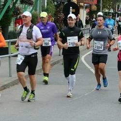 Tallinna Maraton - Albert Meijer (908), Inkeri Tiitinen (1917), David Wong (2304)