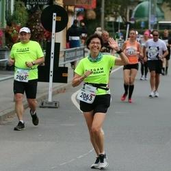 Tallinna Maraton - Jaroslaw Szostakowski (2062), Joanna Grochowska (2063)