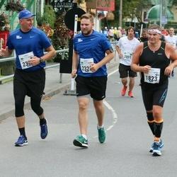 Tallinna Maraton - Jukka Kalliokoski (1823), Madis Koit (2323), Raido Ringmets (2324)