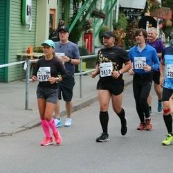 Tallinna Maraton - Gert Kello (1113), Coralie Pearson (1913), Mariana Rästas (2189), Riho Mikko (2280), Reimo Reisberg (2412)