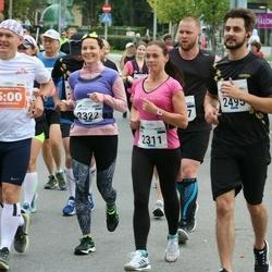 Tallinna Maraton - Merja Mattila (1754), Aire Rosik (2311), Anu Marie Saar (2322), Stefan Linde (2495)