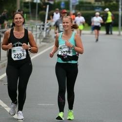 Tallinna Maraton - Sofia Sjöström-Blom (2237), Minna Mattila (2238)