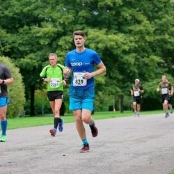 Tallinna Maraton - Taaniel Tooming (839), Christopher Bender (1597), Gert Saamann (2241)