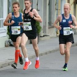 Tallinna Maraton - Ivar Ivanov (26), John Volkenandt (28), Marti Medar (35)