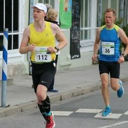 Tallinna Maraton - Jaanus Mäe (36), Cristian Anton (112)