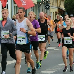 Tallinna Maraton - Tiit Lepik (217), Andrus Kivari (231), Helena Peik (402)