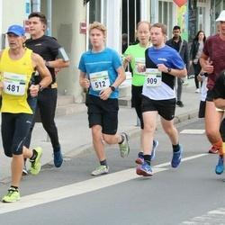 Tallinna Maraton - Vladimir Vinogradov (481), Tuomas Risku (512), Marti Tutt (909)