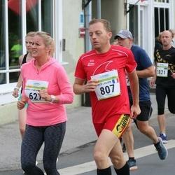 Tallinna Maraton - Anna-Maria Antsmäe (627), Patrice Julien Bertrand Daniel (807)