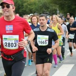 Tallinna Maraton - Valentina Nesterova (1665), Bjorn Valdimar Gudmundsson (2803)