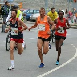 Tallinna Maraton - Roman Fosti (2), Nicholas Mulinge Makau (6), Stefano La Rosa (9)