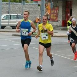 Tallinna Maraton - Jaanus Mäe (36), Olari Orm (40)