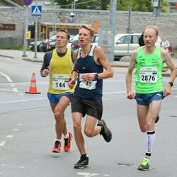 Tallinna Maraton - Mikk Orasmaa (46), Dmitrii Semenov (144), Pärtel Piirimäe (2876)