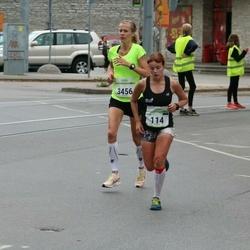 Tallinna Maraton - Mari Boikov (114), Minna Kelk (3456)